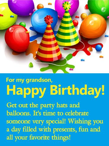 birthday message for grandson with images ; b_day_fgs20