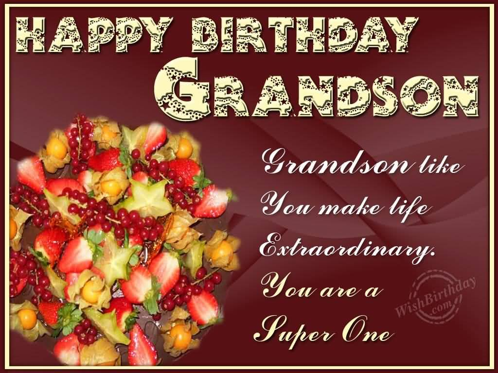 birthday message for grandson with images ; fabulous-greetings-birthday-wishes-for-grandson