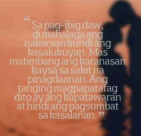 birthday message for him tagalog ; tagalog-love-quotes-for-him
