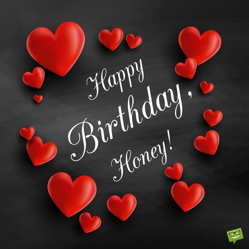 birthday message for husband with images ; Birthday-message-for-husband-on-card-with-red-hearts-1