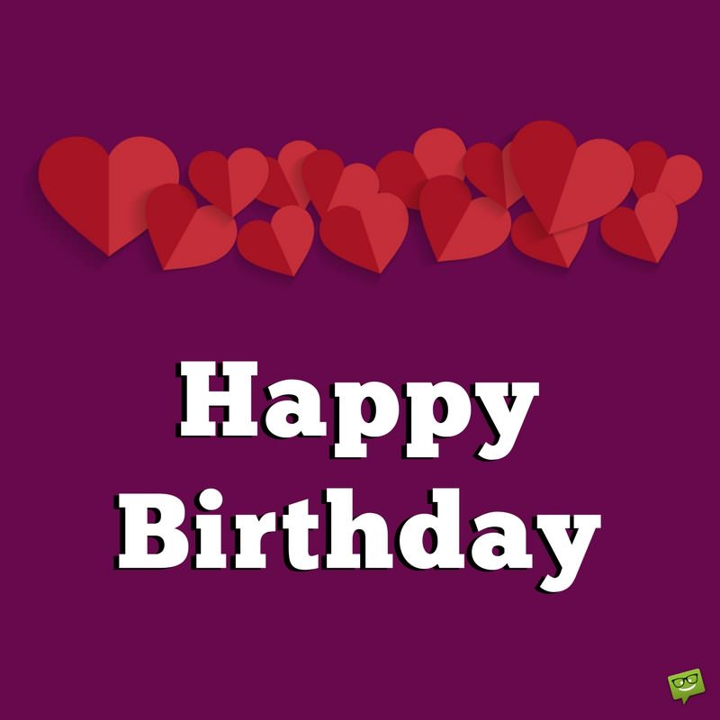 birthday message for husband with images ; Birthday-message-for-loving-husband-on-purple-card-with-hearts