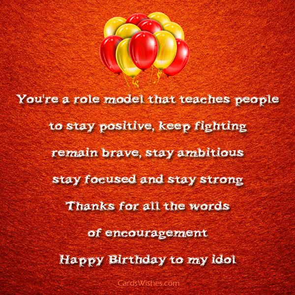 birthday message for my best friend tagalog ; birthday-wishes-for-role-model