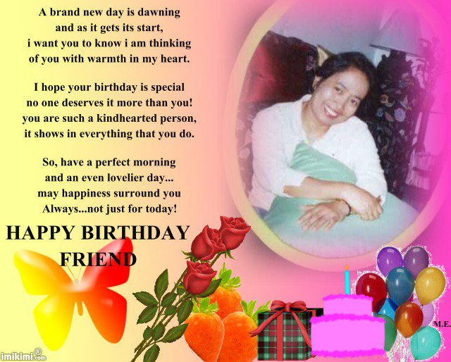 birthday message for my friend tagalog ; birthday-wish