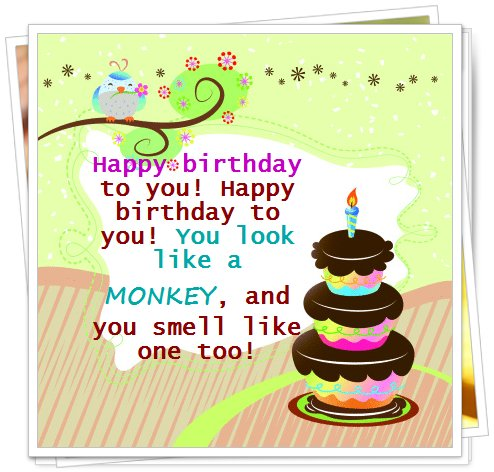 birthday message for my friend tagalog ; humorous-birthday-quote