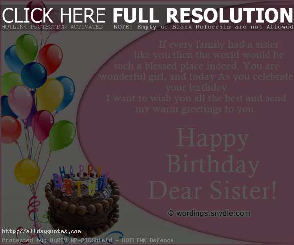 birthday message for my girlfriend tagalog ; Happy-Birthday-Quotes-For-Sister-Tagalog