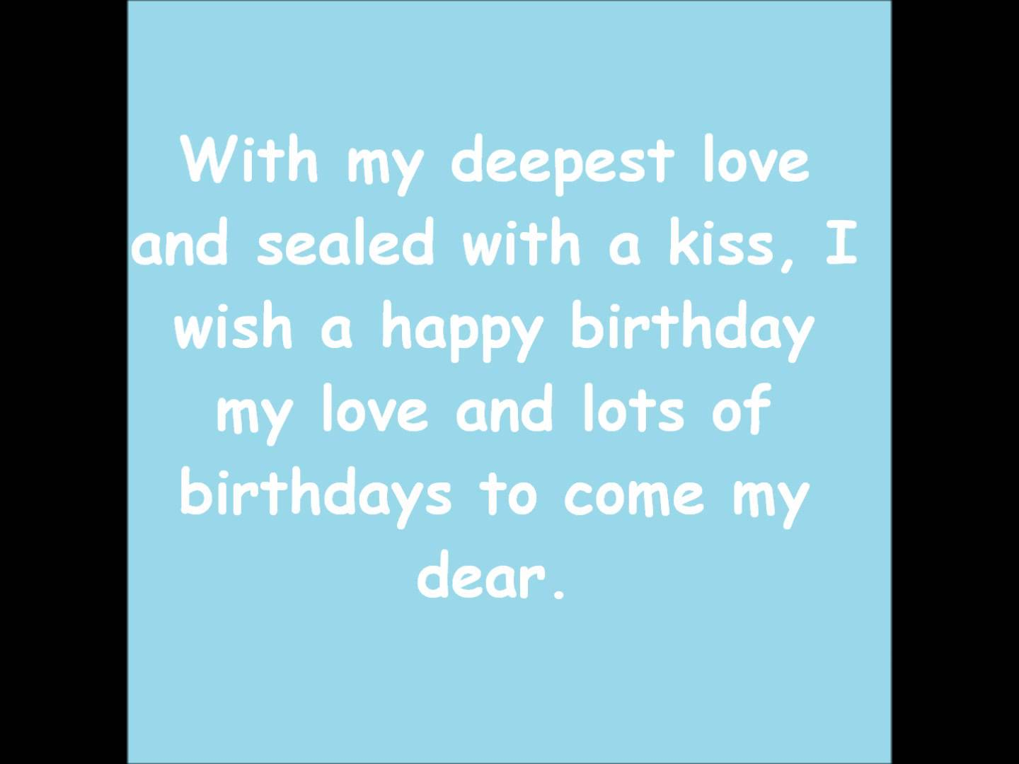 birthday message for my girlfriend tagalog ; maxresdefault