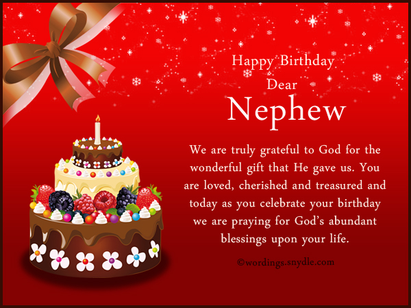 birthday message for my nephew tagalog ; nephew-birthday-wishes-and-messages