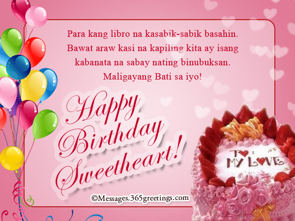 birthday message for my niece tagalog ; Happy-Birthday-Sweetheart