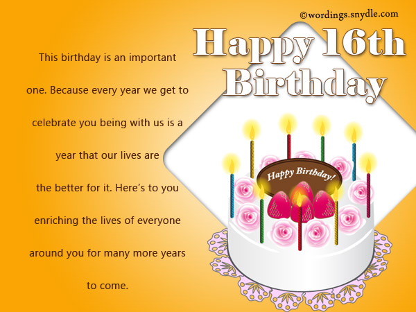 birthday message for nephew tagalog ; inspirational-16th-birthday-wishes