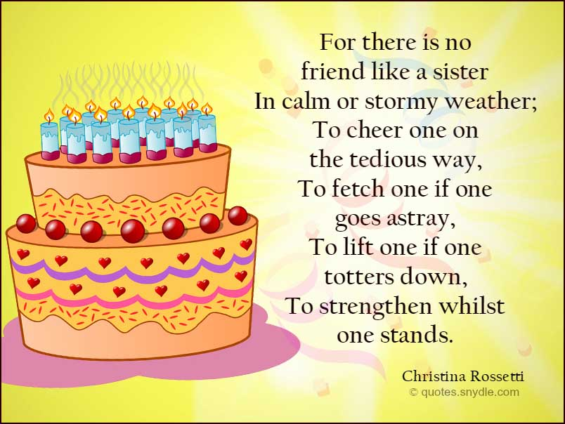 birthday message for sister tagalog ; best-sister-birthday-quotes