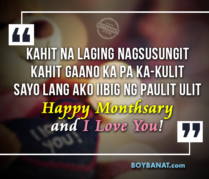 birthday message for special someone tagalog ; Monthsary%252BQuotes%252B2015%252BA