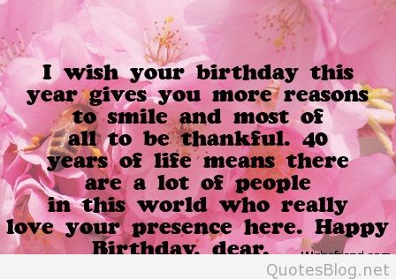 birthday message images facebook ; 610-40th-birthday-wishes