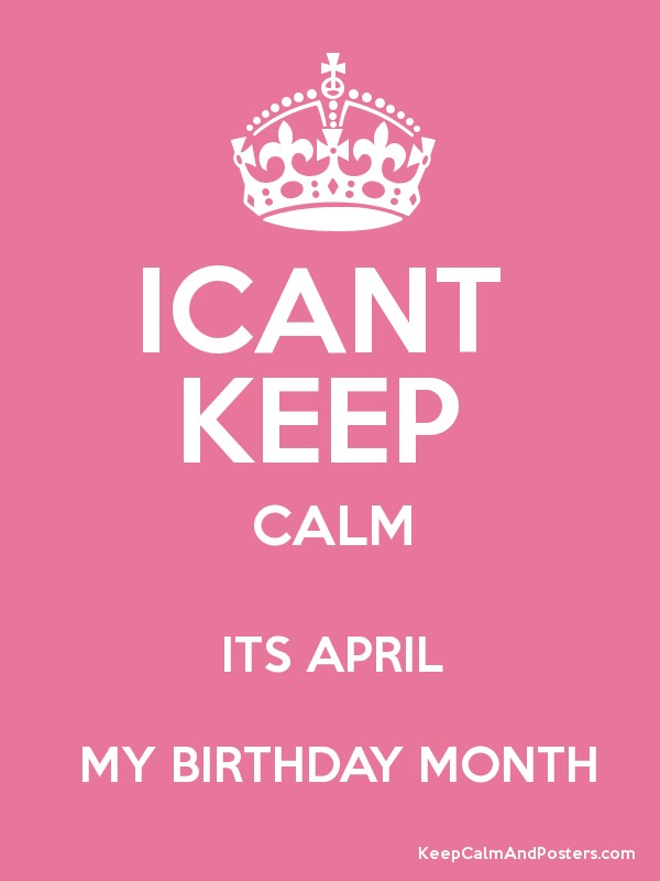 birthday month posters ; 4276685