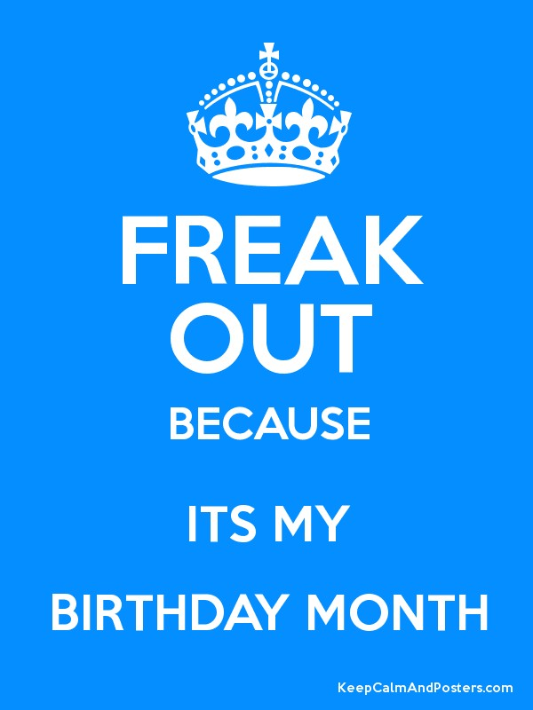 birthday month posters ; 4716357