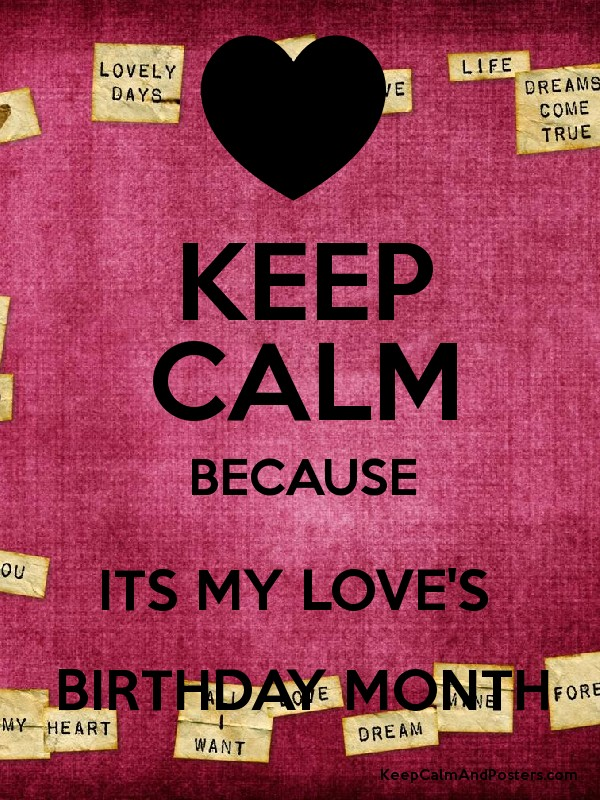 birthday month posters ; 5790701