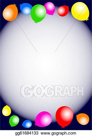 birthday party border clip art ; birthday-party-balloon-border_gg61684133