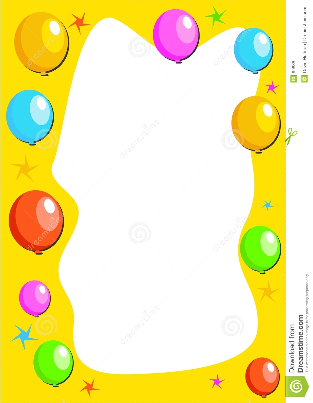 birthday party border clip art ; birthday-party-clip-art-borders-balloon-border-99688