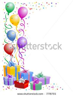 birthday party border clip art ; c9e8ec300b3811c077721cda938bd9fe--birthday-balloons-streamers