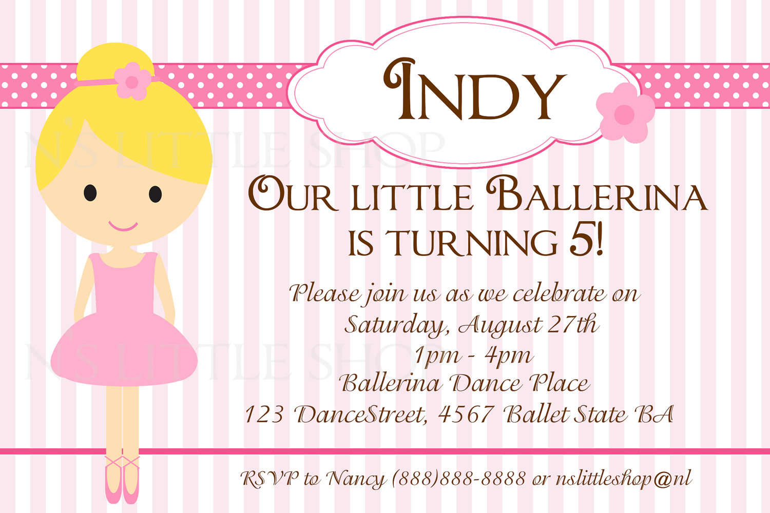 birthday party invitation card template ; Chic-Kids-Party-Invitations-To-Create-Your-Own-Online-Party-Invitations