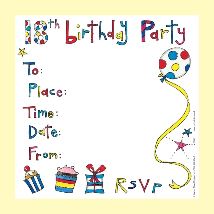 birthday party invitation card template ; birthday-party-invitations-free-templates