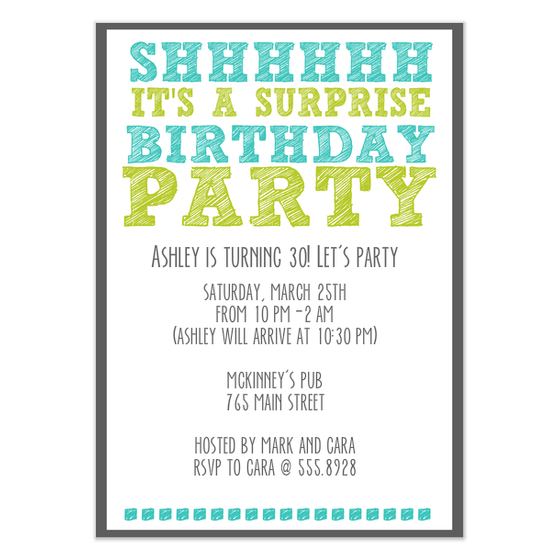 birthday party invitation card template ; surprise-birthday-party-invitation-template-unique-design-of-terrific-Party-invitations-15