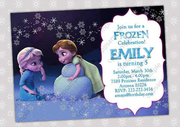 birthday party invitation template photoshop ; 14-frozen-birthday-invitation-free-psd-ai-vector-eps-format-disney-frozen-birthday-invitation-templates