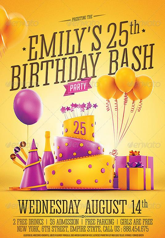 birthday party invitation template photoshop ; 2c822a9a498a6c31fade88aade92c7de