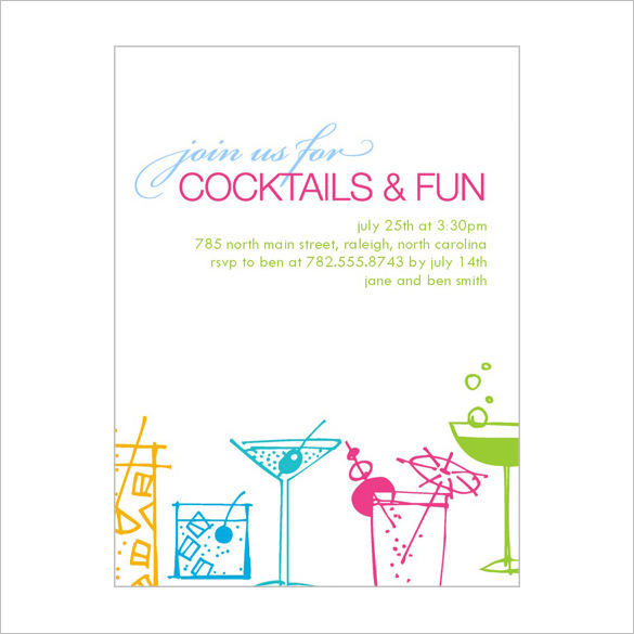 birthday party invitation template photoshop ; birthday-party-invitations-templates-free-download-15-stunning-cocktail-party-invitation-templates-designs-free-template