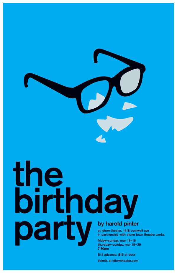 birthday party poster ; birthday-party-poster-2
