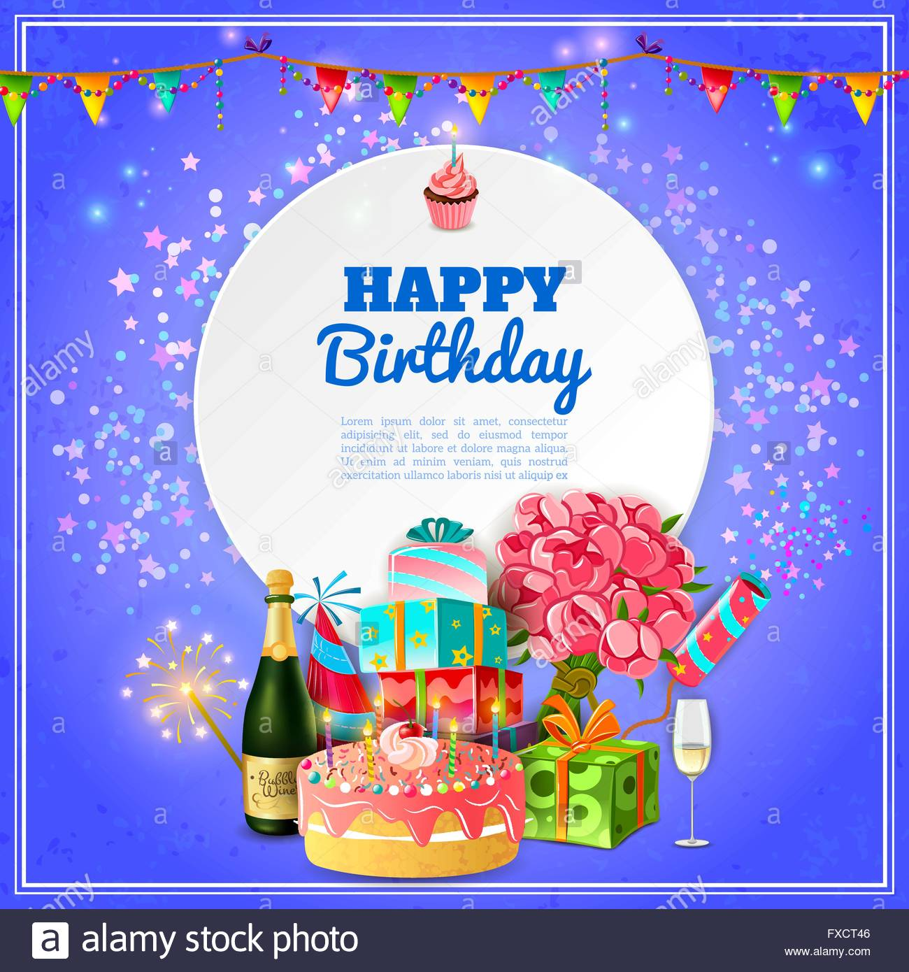birthday party poster ; happy-birthday-party-background-poster-FXCT46