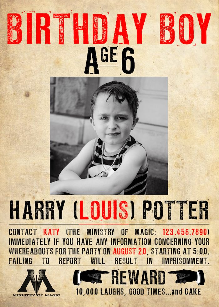 birthday party poster ideas ; Harry-Potter-Birthday-Party-via-Karas-Party-Ideas-KarasPartyIdeas