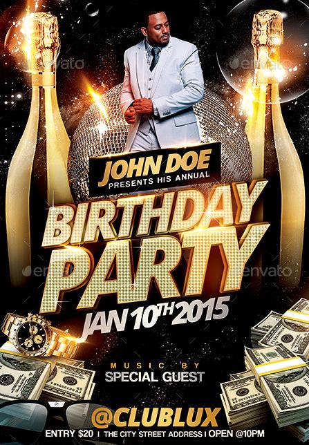 birthday party poster template ; 9fe2db04fb83bcae66a4dc13a9873275