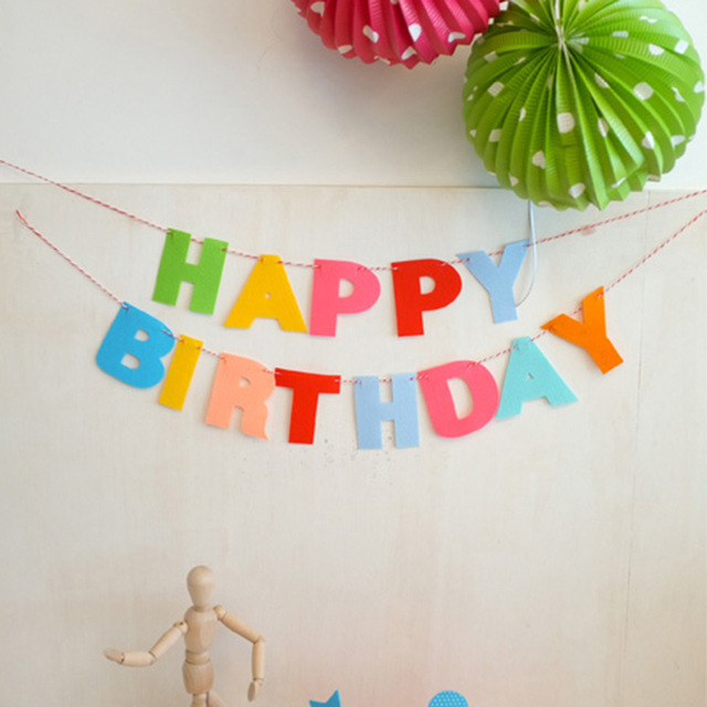 birthday photo banner diy ; DIY-Colorful-Birthdays-Party-Supplies-Decoration-Happy-Birthday-Banner-Letters-Party-Flags-Bell-Garland-Flag-Baby