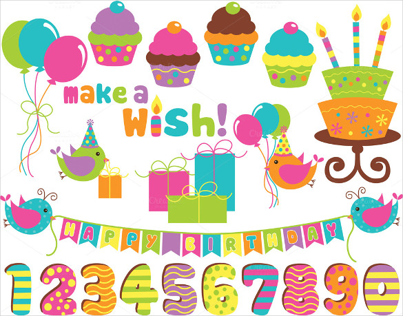 birthday photo banner template ; Cupcake-Sample-Birthday-Banner-Template