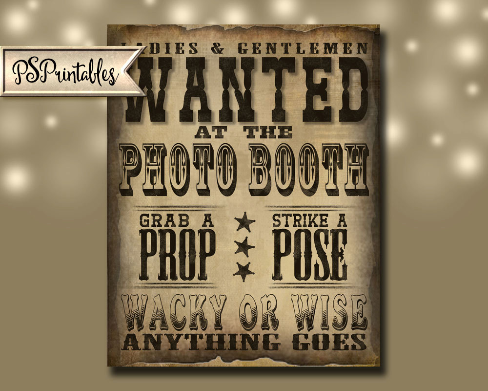 birthday photo booth signs ; il_fullxfull