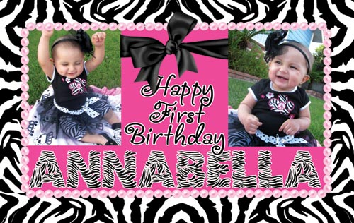 birthday photo collage banner ; BANNER_01