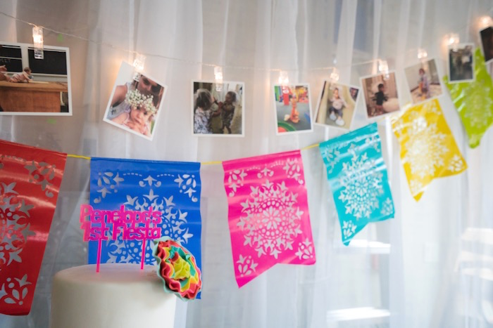 birthday photo collage banner ; Colorful-First-Birthday-Fiesta-via-Karas-Party-Ideas-KarasPartyIdeas