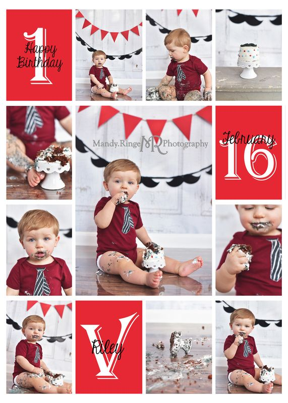 birthday photo collage banner ; fba56691fb7b43df48df64a8cb21315c--little-gentleman-boy-first-birthday