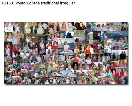 birthday photo collage poster ; Panoramic-Collage_10