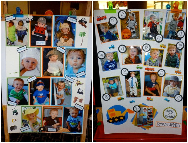 birthday photo collage poster ; cool-birthday-photo-collage-poster-and-incredible-ideas-of-there-are-only-two-ways-to-live-your-life-construction-truck-posters-7