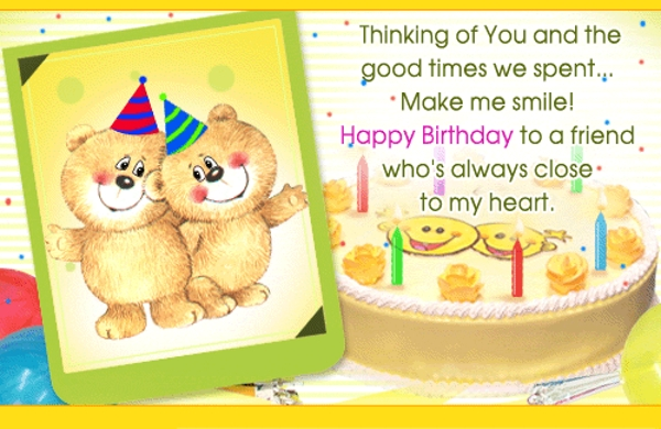 birthday photo frame with quotes ; happy-birthday-friend-quotes-funny