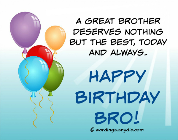 birthday picture messages for brother ; best-birthday-wishes-for-brother
