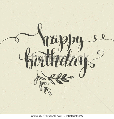 birthday pictures to draw on a birthday card ; stock-vector-lettering-happy-birthday-hand-drawn-card-vector-illustration-263621525