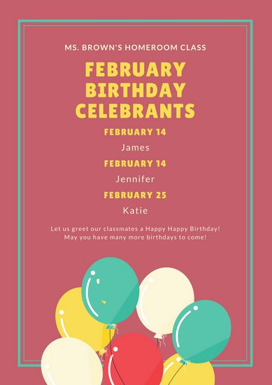 birthday poster ; canva-colorful-balloons-classroom-birthday-poster-MACU0l4-Sm4