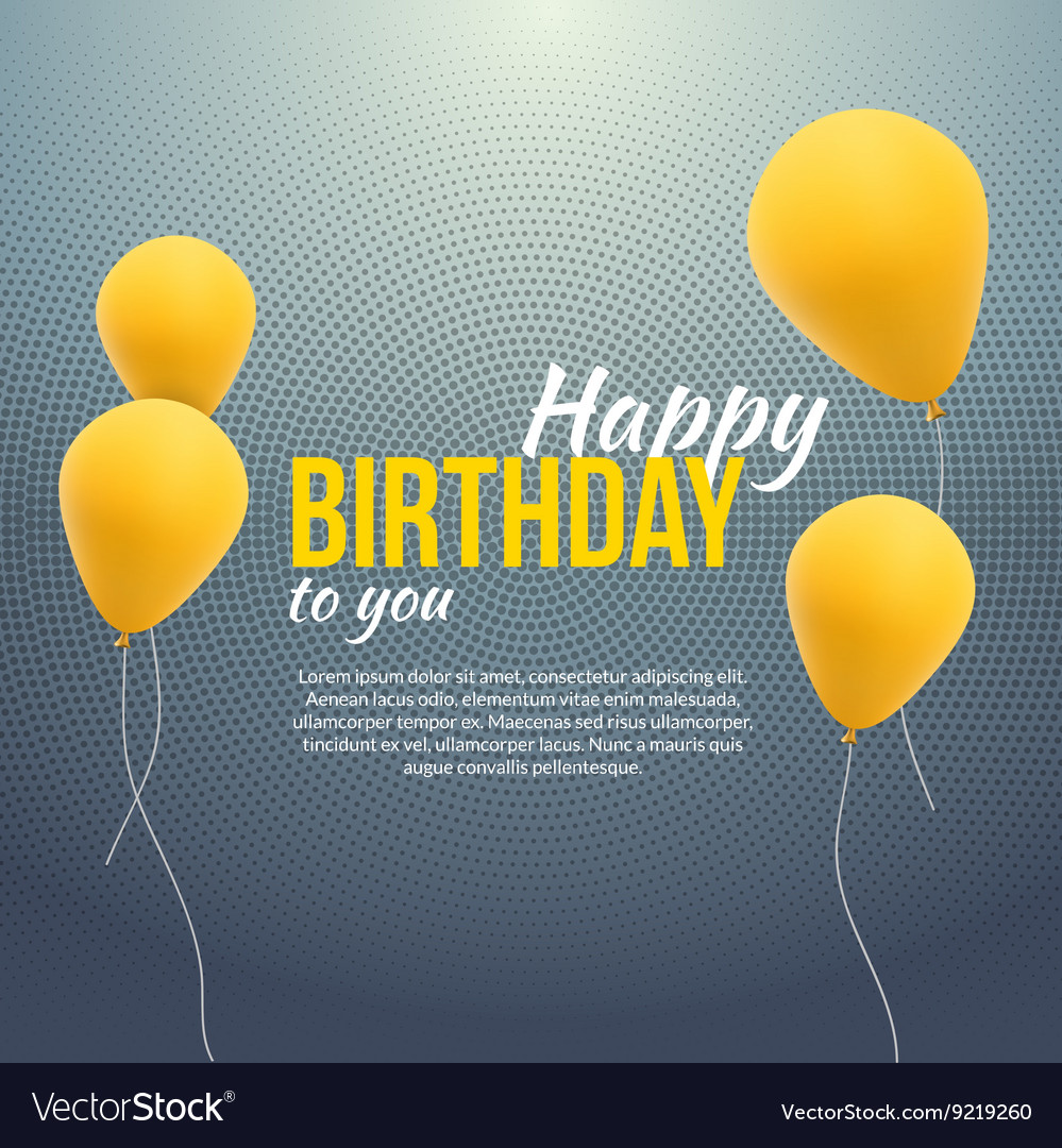 birthday poster background ; happy-birthday-poster-background-with-yellow-vector-9219260
