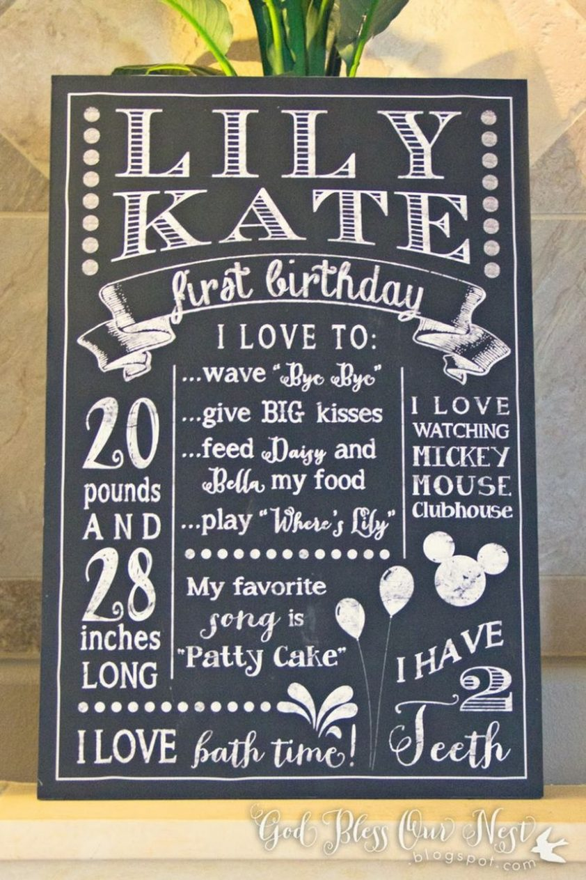 birthday poster ideas ; inspiring-1st-birthday-poster-and-best-ideas-of-25-about-first-chalkboard-on-pinterest-posters-10-842x1263