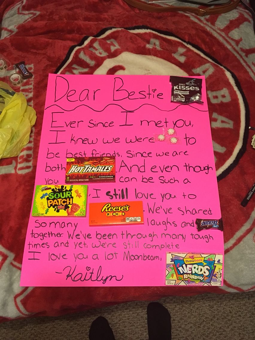 birthday poster ideas for best friend ; 0891d8084cacab461ade3d0d257cf6f3