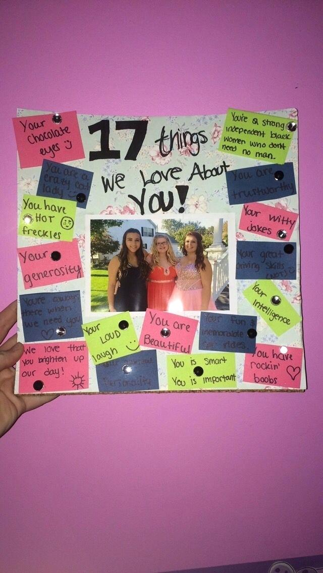 birthday poster ideas for best friend ; diy-gifts-for-your-best-friend-birthday-gift-for-diy-christmas-gifts-for-friends-pinterest