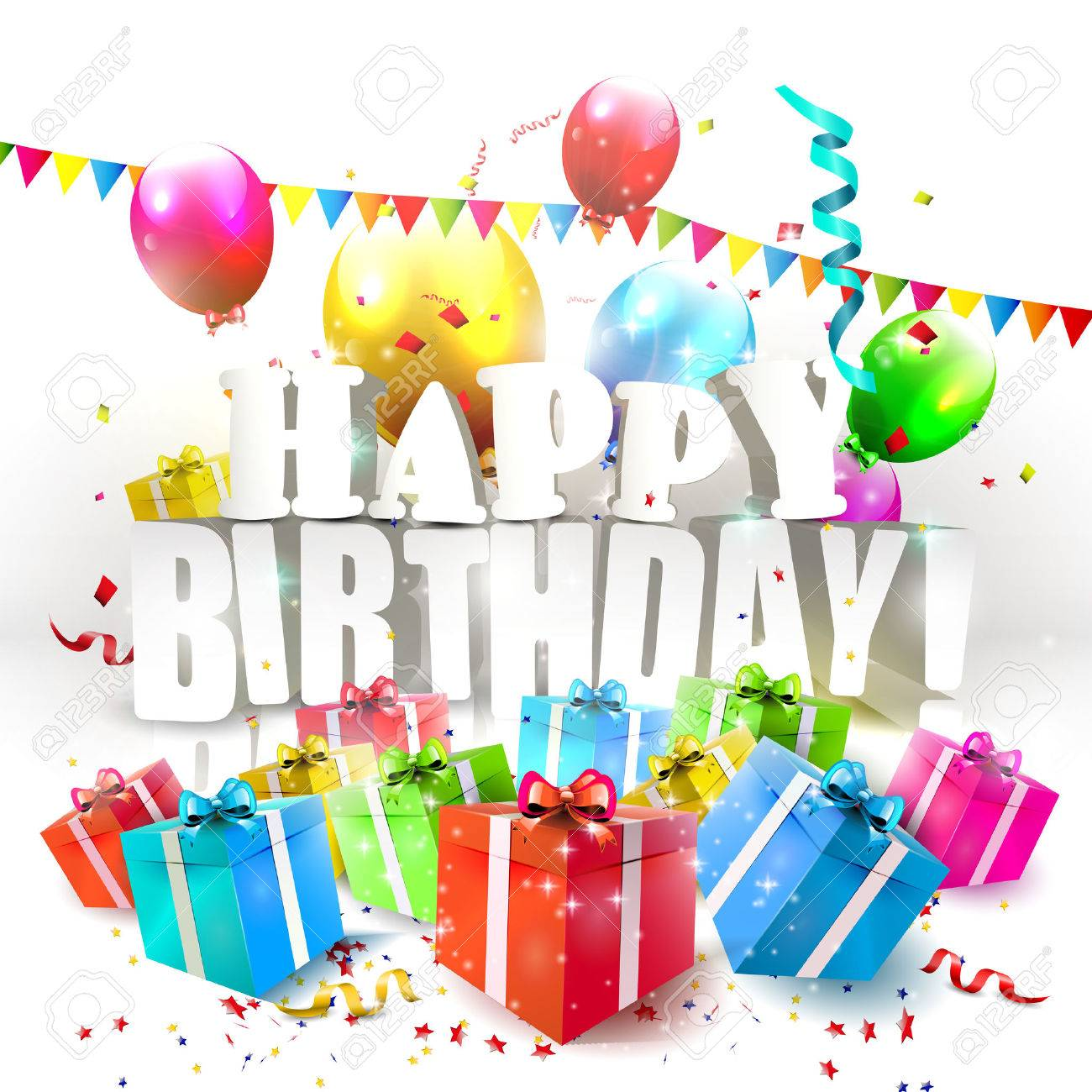 birthday poster images ; 29817012-modern-birthday-poster-with-colorful-gifts-and-happy-birthday-inscription