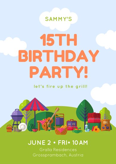 birthday poster images ; canva-picnic-birthday-poster-MAB2s4joTp8